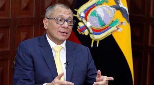 Jorge Glas tenía prohibido salir del país por estar involucrado en el caso. (Foto: Reuters)