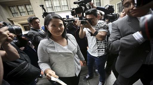Otra medida dispuesta es que la investigación contra Keiko Fujimori y su esposo durará 36 meses. ( Foto: USI)