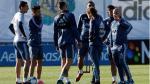 Argentina comienza entrenamientos sin Messi, Mascherano, Biglia ni Dybala - Noticias de sergio perez