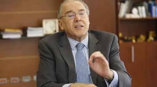 Presidente ejecutivo de Ferreycorp, Oscar Espinosa. (Foto: Manuel Melgar)