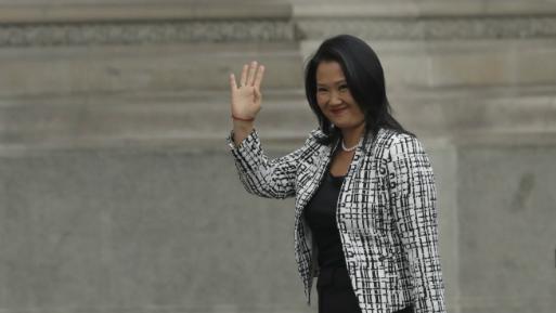 Fiscal apela y pide acceder a cuentas de Keiko Fujimori