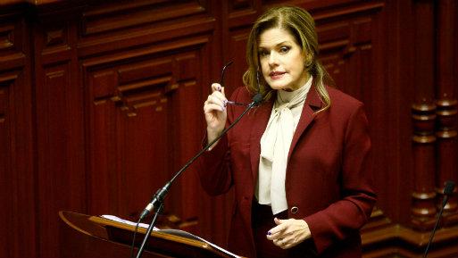 El Pleno respaldó por mayoría la confianza al Gabinete Aráoz. Frente Amplio votó en contra (Foto: Andina).
