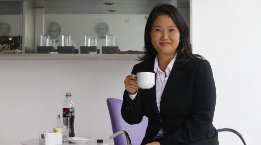 Keiko Fujimori responde ante Comisión Lava Jato. (Foto: USI)