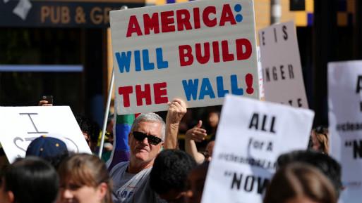 Desde que Donald Trump asumió la presidencia, se han radicalizado las posiciones frente a los inmigrantes en Estados Unidos. (Foto: Reuters).