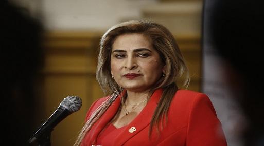 Fuerza Popular retiraría a Maritza García de Comisión de la Mujer