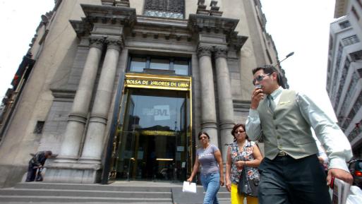 La Bolsa de Lima baja 0,23 % y cierra en 19.609,69 puntos