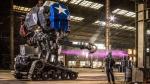 Robot gigante estadounidense venció a su rival japonés - Noticias de california