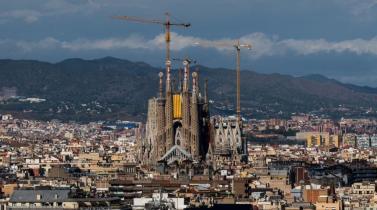 Vista panorámica de la ciudad de Barcelona. (Foto: Getty Images)