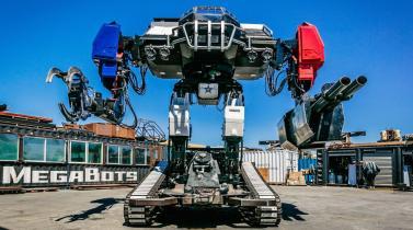 Robot gigante estadounidense venció a su rival japonés