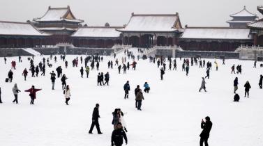 Beijing preservará así la nieve para Juegos Olímpicos de Invierno 2022