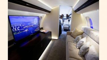 Ingeniería de lujo: así es el nuevo jet Bombardier de los millonarios
