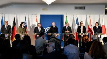 G7 y gigantes de internet acuerdan luchar contra la propaganda