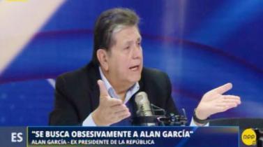 """Alan García se defiende ante nueva investigación: """"Yo he ganado mucho dinero como conferencista"""""""