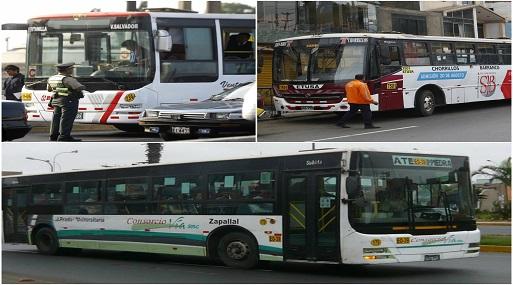Medio Pasaje: 57 empresas de transporte fueron sancionadas
