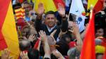 Una masiva manifestación en Barcelona responde a los independentistas catalanes - Noticias de barcelona