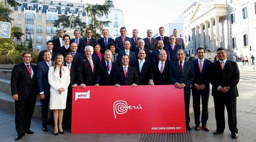 Delegación de inPerú visita Madrid, España. (Foto: inPerú)