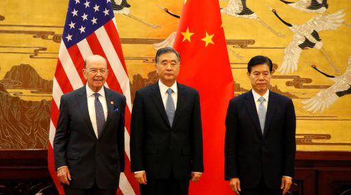 Los 19 acuerdos fueron rubricados en una ceremonia presidida por el secretario de Comercio de EEUU, Wilbur Ross, y el viceprimer ministro chino para asuntos económicos, Wang Yang, en el Gran Palacio del Pueblo. (Foto: Reuters)