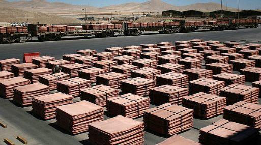 A las 1145 GMT, el cobre en la Bolsa de Londres perdía un 0.71% a US$ 6,806.50 la tonelada.