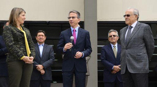 """""""El Perú es un importante mercado para Caterpillar"""", sostuvo Jim Umpleby, CEO de Caterpillar. (Foto: Difusión)"""
