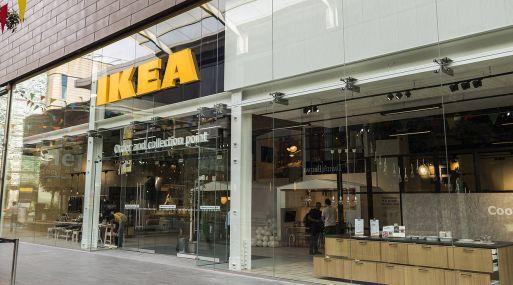 Tienda para ordenar y recoger productos de Ikea.