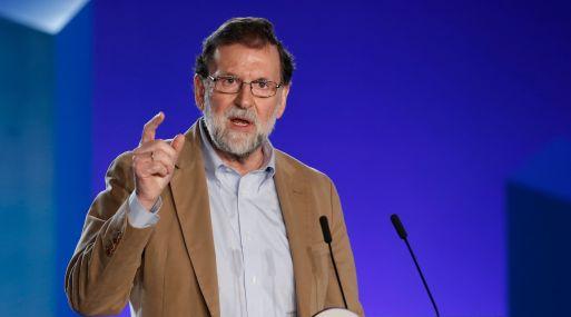 """""""Tenemos que recuperar la Cataluña sensata, pactista, emprendedora y dinámica"""", dijo Mariano Rajoy. (Foto: AFP)"""