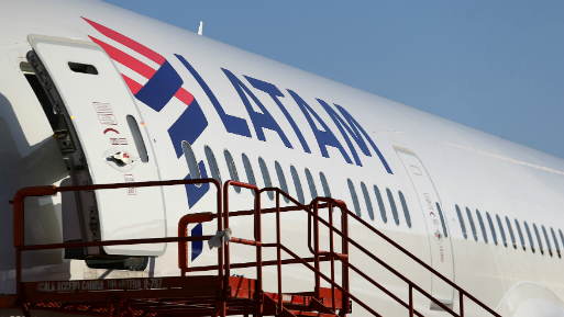 Latam Airlines es el mayor grupo de transporte aéreo de América Latina.