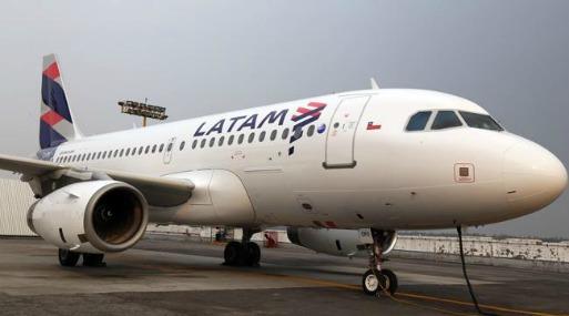 Latam es la mayor firma de transporte aéreo en América Latina.