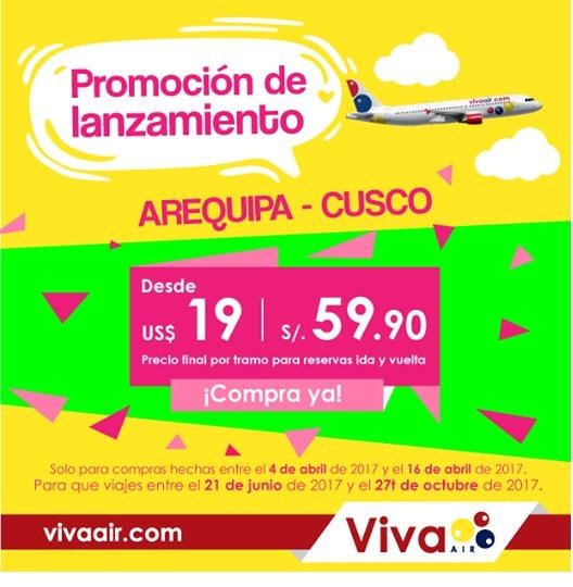 Indecopi sanciona a la aerolínea Viva Air por publicidad engañosa