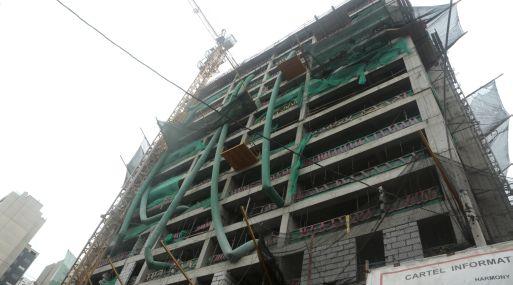 La construcción había caído 16.5% en octubre del 2016.
