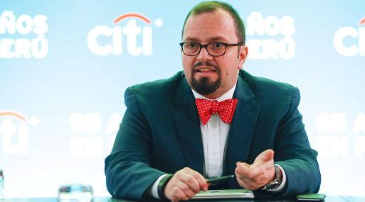 Munir Jalil, Jefe de Estudios Económicas para la Región Andina de Citibank (foto: Gestión).