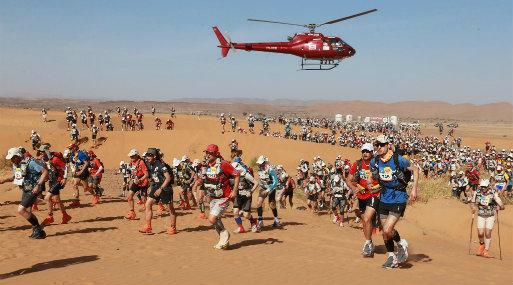 Maratón des Sables tendrá a áreas protegidas como escenario principal (Foto: Difusión)