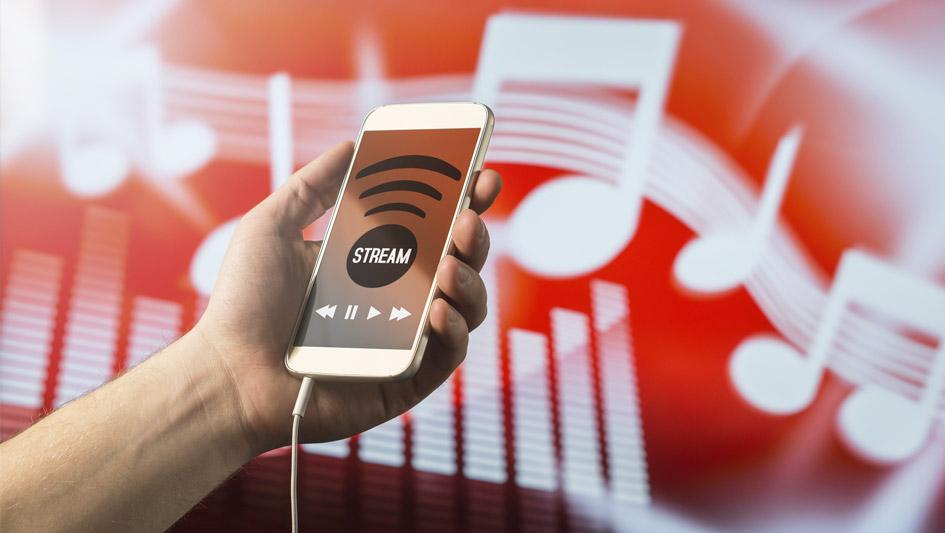 2. La industria global del streaming musical cerró el 2016 con ventas de US$ 7,850 millones, 170.69% por encima que en el 2015, según la IFPI.