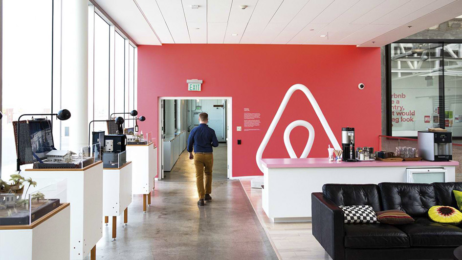 5.Airbnb, con presencia en 65,000 ciudades en 191 países, tiene en sus filas a tan solo 3,100 empleados.